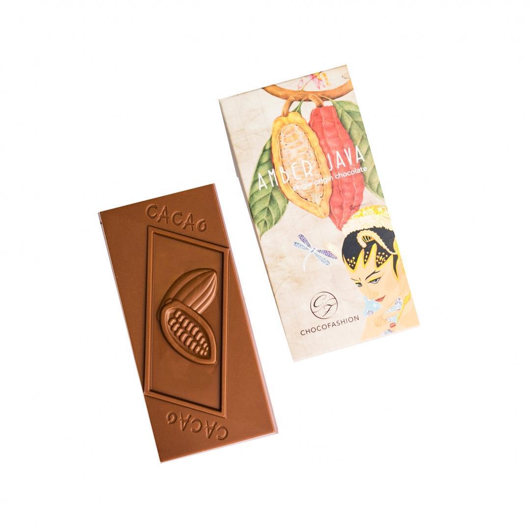 Tableta ciocolata AMBER JAVA